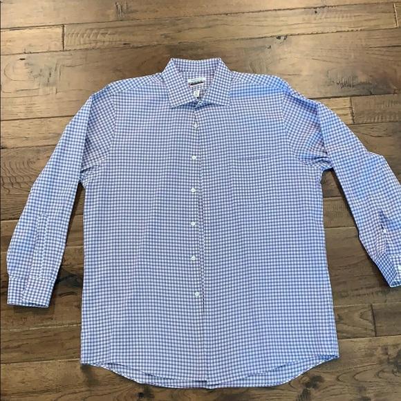 Mens Purple Hue Dress Shirt Size 165 32 33